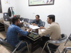 جلسه هماهنگی با مدیر روابط عمومی نمایندگی