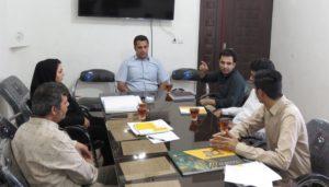 اولین جلسه کمیته تخصصی عمران