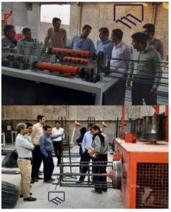 بازدید اعضای نظام مهندسی ساختمان طبس از کارگاه حاج محمود یعقوبی