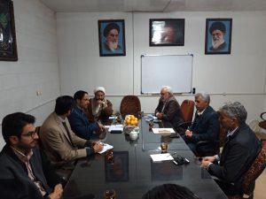 جلسه مدیر و مشاورین نمایندگی با اعضای محترم شورای شهر دیهوک