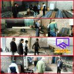 بازدید کارگروه استاندارد سازی مصالح از بنگاههای آهن آلات شهرستان طبس