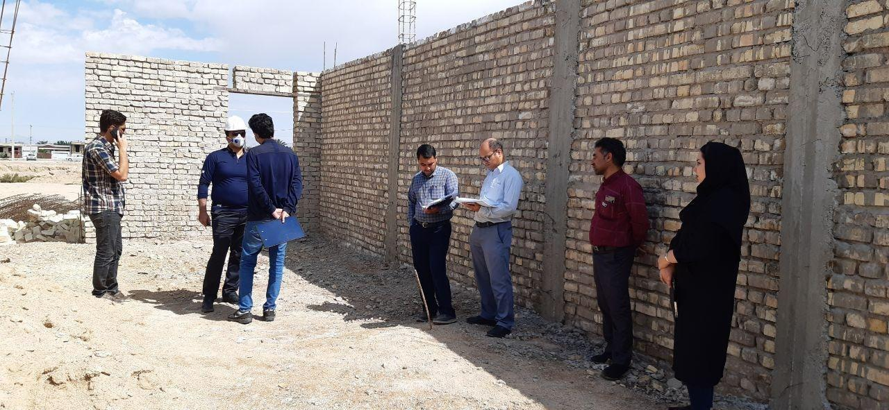 بازدید کمیته تخصصی عمران نمایندگی از پروژه در حال احداث کمیته امداد امام خمینی(ره)